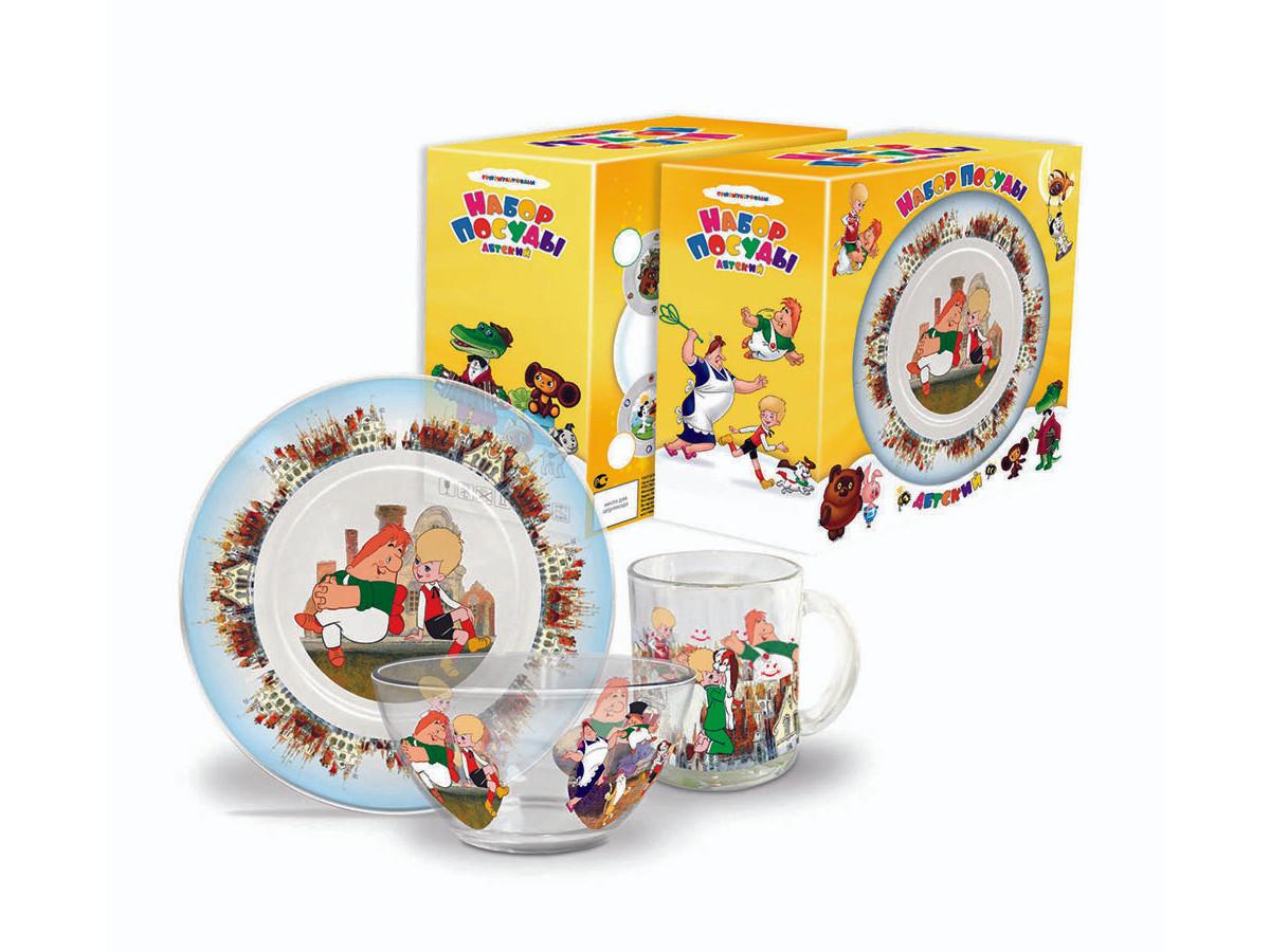 Набор детской посуды Priority КРС-222 Союзмультфильм фото