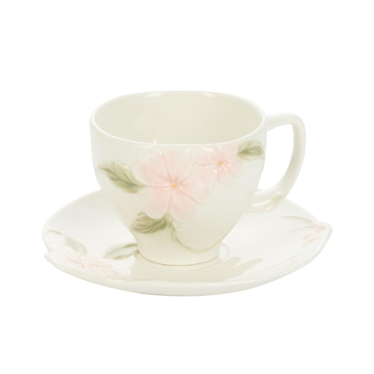 Чайная пара GIPFEL TENDER FLOWERS 41534 чайная пара старая в з