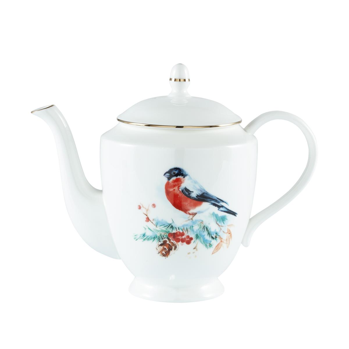 Фото - Чайник заварочный GIPFEL CHRISTMAS FORREST 41247 1 л заварочный чайник gipfel limoncello 42245