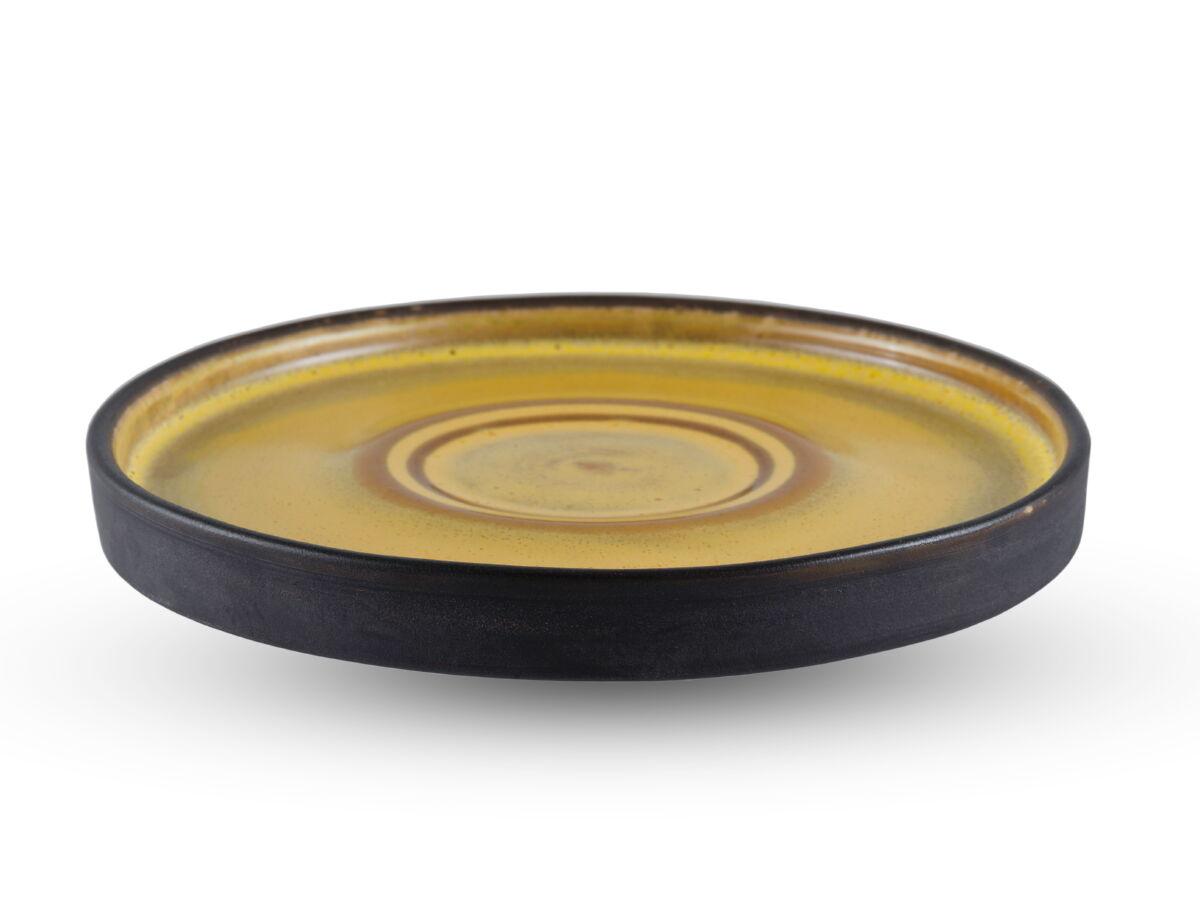 Картинка - Керамическое блюдце Gipfel 009000197 Шафран 15 см