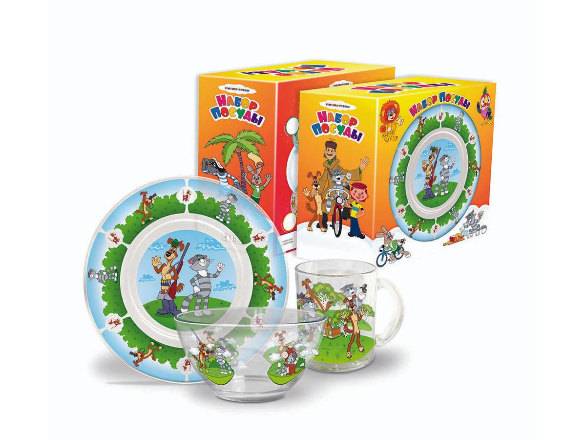 Набор детской посуды Priority КРС-259 Союзмультфильм фото