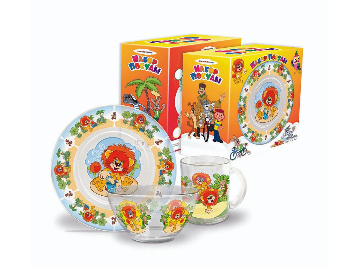 Набор детской посуды Priority КРС-260 Союзмультфильм фото