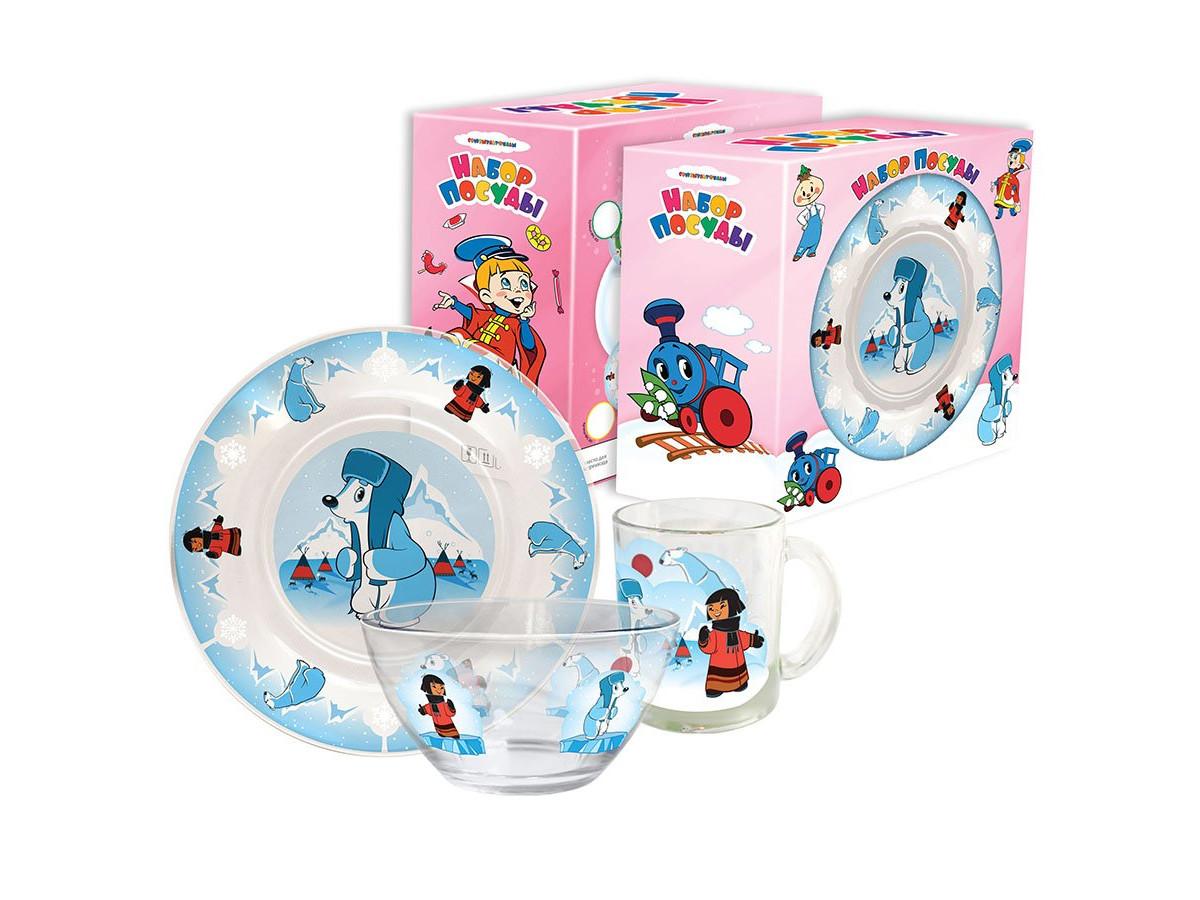 Набор детской посуды Priority КРС-301 Союзмультфильм фото