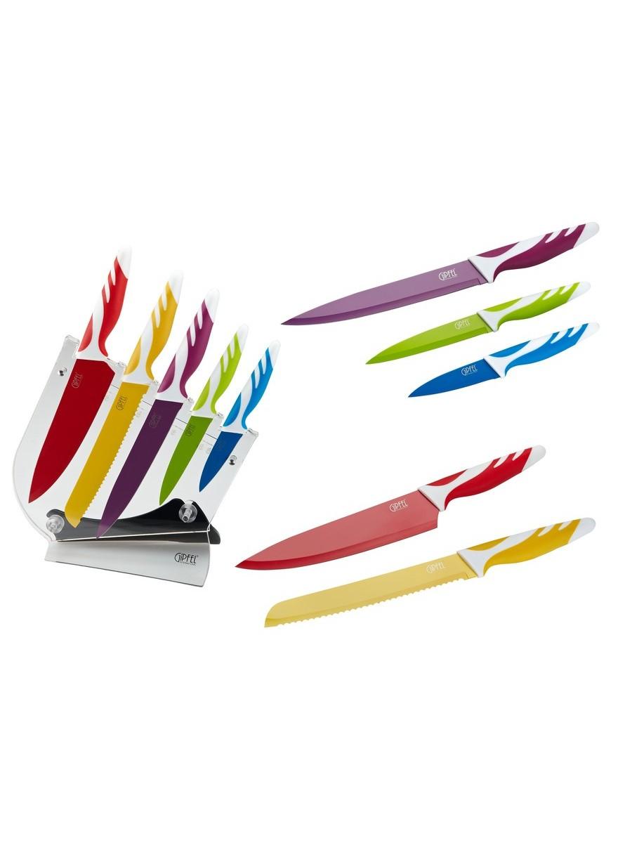 Набор кухонных ножей Gipfel Rainbow 6757 недорого
