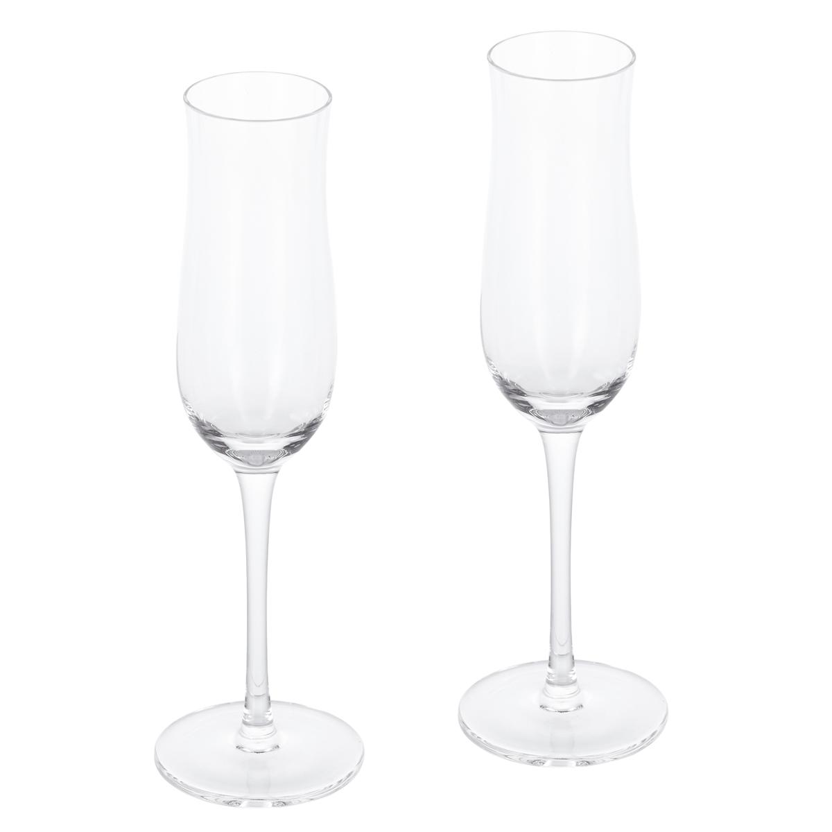 Набор фужеров для шампанского Gipfel TULIP 42221 2шт набор фужеров для шампанского vivino хрустальное стекло 4 шт 95864 nachtmann