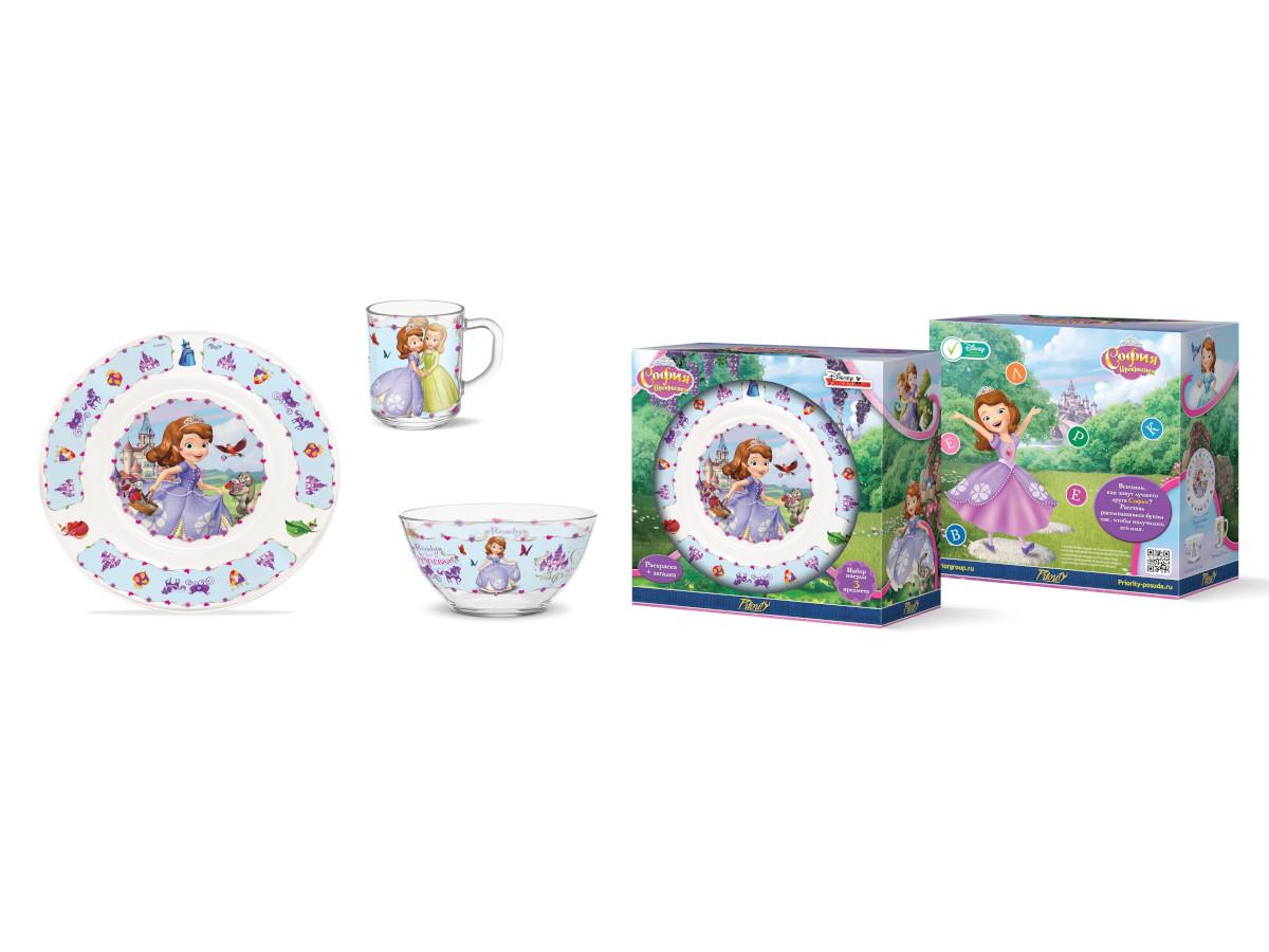 Картинка - Набор детской посуды Priority КРС-958 Дисней